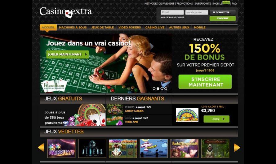 Casino extra : le meilleur casino français de tous les temps ? Notre avis